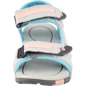 Hi-Tec GT Strap Sandalen Kinderen grijs/turquoise